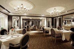 French restaurant Les Celebrites (Hotel Nikko Osaka)