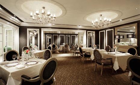 French restaurant Les Celebrites (Hotel Nikko Osaka) PIC1