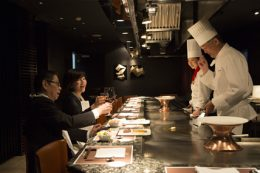 Teppanyaki restaurant Icho (Hotel Nikko Osaka)
