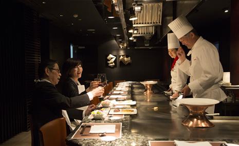 Teppanyaki restaurant Icho (Hotel Nikko Osaka) PIC1
