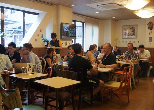 SAKURA CAFE HATAGAYA PIC2