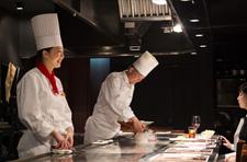 Teppanyaki restaurant Icho (Hotel Nikko Osaka) PIC3