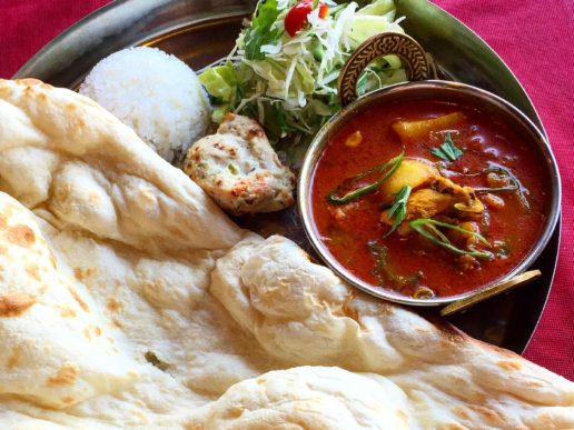 Indian cuisine, Indira Uozu store PIC3
